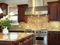 Solid Wood Kitchen Cabinets-Oak, Cherry, Cinnamon,