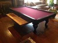 Brand New Oxford Pool Table with Accessory Drawer,