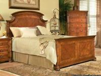 Solid Wood Queen Size Bed ~ NEW ~ Headboard - Foot