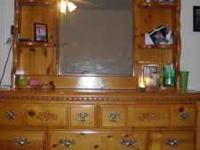 I have a very nice real OAK dresser that i am looking