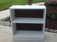 SOLID WOODEN SHELF, FRESHLY PAINTED GREAT CONDITION,