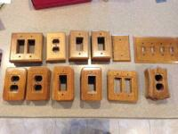 I have a total of 62 various light switch plates and