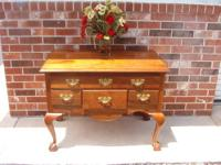 for sale a solid wood, top of a dresser / or headboard