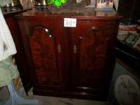 Solid wood traditional style t.v. cabinet... now you