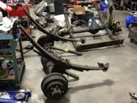 For sale are my front and back Dana 60 axles the front