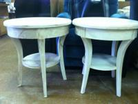 "Solid Wood 22""W End Table $25 Each 2 Available Chabad"
