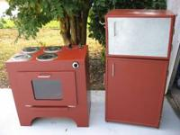 So cute and yet built to last. Solid wood stove with