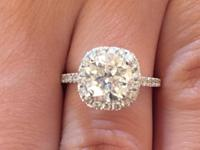 Type: Engagement Ring I'm offering my 2.75 Carat round