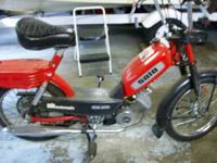 We have a SOLO MOPED from germany, all original parts,