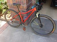 Selling my Soma Juice 29er mtb. Built up as a