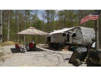 40 acres inside the Danial Boone National Forest. On a
