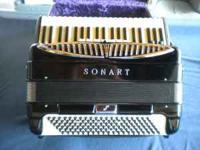 Sonart Symphony Artist Accordion. MADE IN ITALY!!!