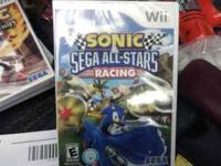 Sonic/sega all star racing for wii. i ordered one got