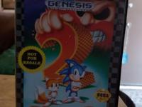 Sonic The Hedgehog 2 a Sega Genesis Classic, in very