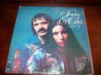 Sonny & Cher record album: The Two of Us. Two LPs.