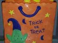 Halloween Treat Jar great for your Halloween candy or