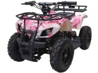 The Sonora electric ATV ride-on from Go-Bowen is built