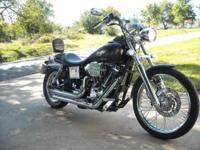 Immaculate 2001 Harley Davidson FXDL with reduced miles