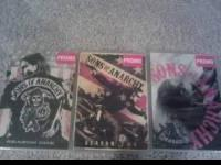 SOA seasons 1-3 for sale!! they are in mint condition
