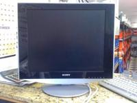 "Sony 19"" Flat Panel - TFT LCD Color Computer Display in"