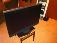 "Sony 32"" Flat Screen HDTV for sale with matching stand."