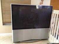"Big 60"" Sony TV, still works well. This TV comes with"