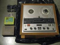 SONY 600 PROFESSIONAL TAPE DECK THIS TAPE DECK