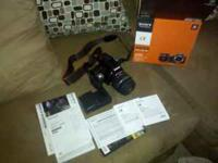 Hi, up for sale is a perfect condition sony a55 camera