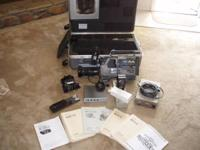 Professional Sony Betacam SP electronic camera. Model