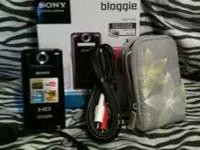 I have a sony bloggie camera. Which i have used for