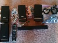 Sony Blu-Ray 5 speaker surround sound system w/sub. In