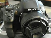 Sony cyber shoot hx300 50x Good shape . What is