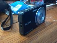 I have a brand new sony cyber shot camera for sale,