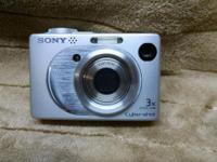 "Sony Cyber-shot DSC-W1 5.1MP Digital Camera 2.5""LCD 3x"