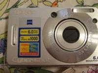 Sony Cybershot Model DSC-W50 in good working condition.