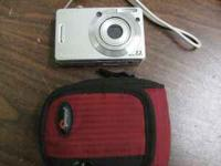 This is the Sony Cybershot DSCW55 Digital Camera! It is