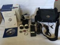 Sony DCR sr45 Handycam This Handycam has a 30 gigabyte