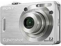 Sony Cybershot Digital Camera. 7.2 Megapixels, 2.5' LCD