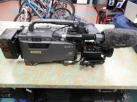 Up for sale is a used Sony DNW-9WS Professional 2/3""