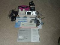 Sony camera with all necessary manuals, discs and