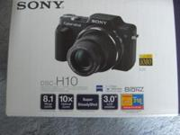 Sony DSC-H10/B Camera This camera has taken a total of