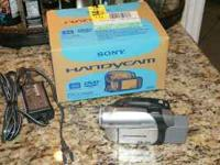 "Sony Handycam digital camcorder with 2.5"" screen (uses"