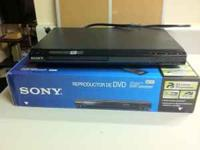 Brand new DVD player from Sony.... call me on  Please