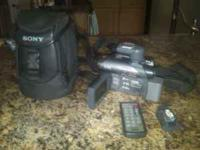 I have a Sony HandiCam DCR-DVD305 in great shape. This