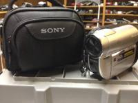 Sony Handycam DVD-RW in great condition   Model number: