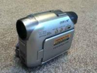 Sony handycam DCR-HC21! Comes with 7 mini dv tapes.