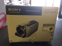 "Sony Handycam DCR-SX44 4 GB Camcorder  ""GREAT"