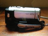 Used twice, this Sony Handycam is in excellent used