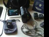 HD Sony handycam. This is only a year old and has only