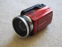 Very nice Sony Handycam DCR-SR47, touch screen, Hard